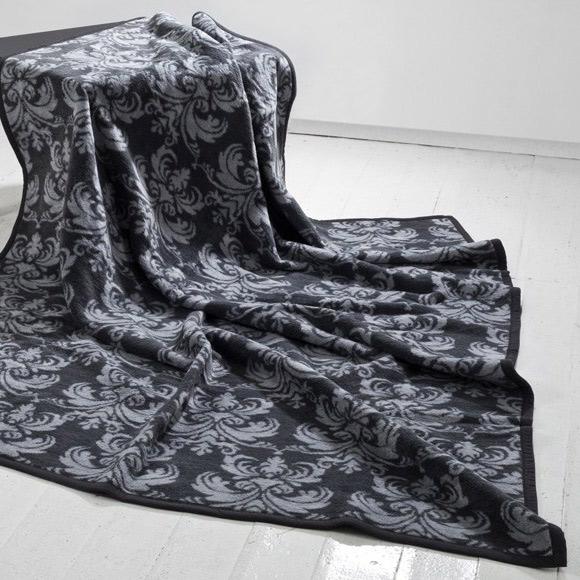 Boldier Silver bavlněná deka