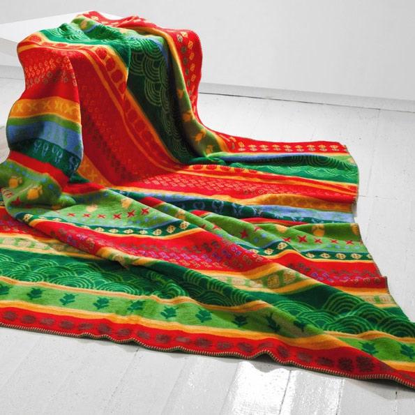 Masai Mara bavlněná deka