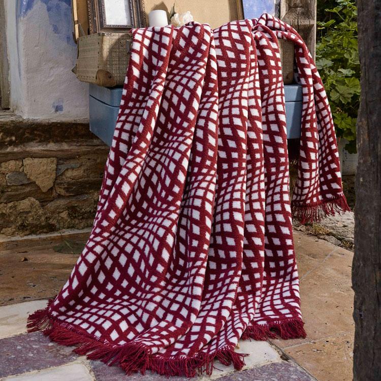 Maze bavlněná deka